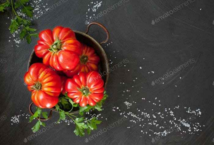 Tomates de reliquia