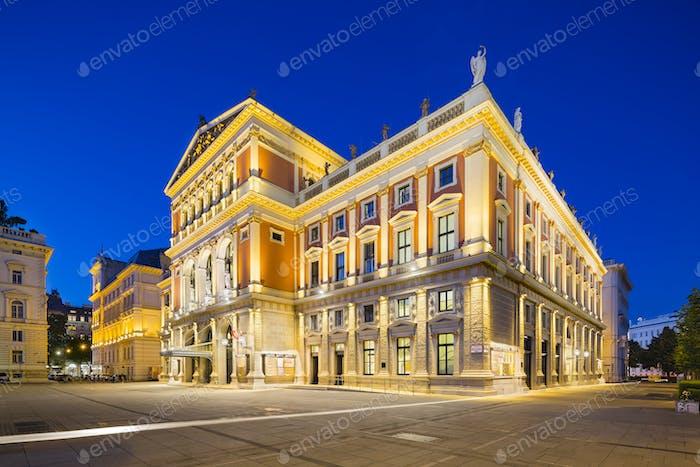 Wiener Musikverein Concert Hall, Vienna, Austria