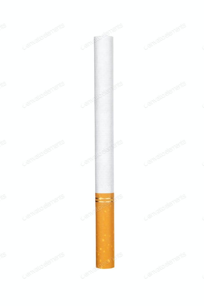 Zigarette auf weiß