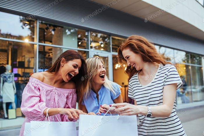 Regular shopaholics