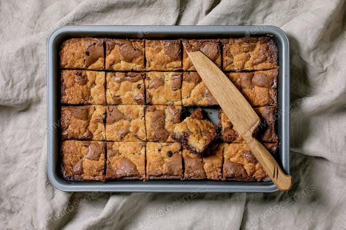 Brookies Brownies und Kekse Kuchen
