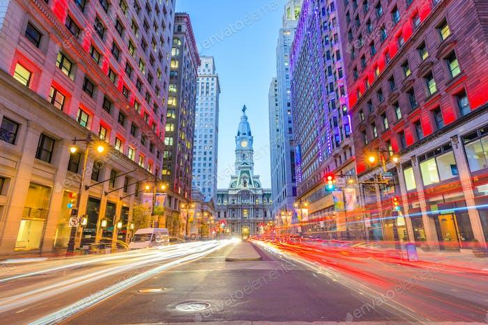 Philadelphia, Pennsylvania, USA at City Hall