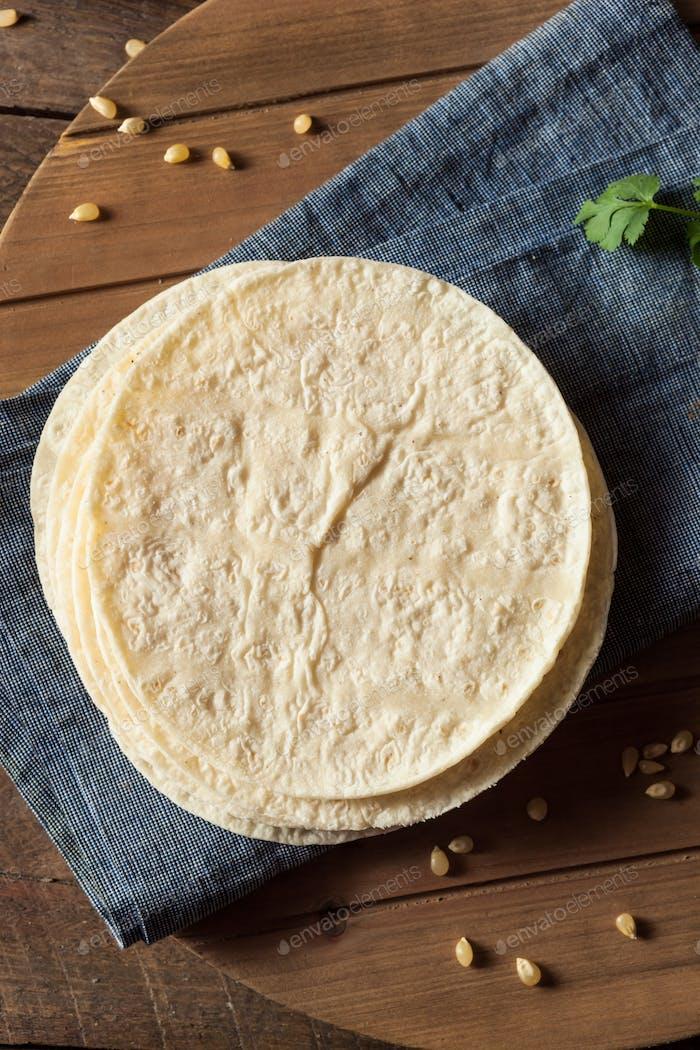 Thumbnail for Homemade White Corn Tortillas