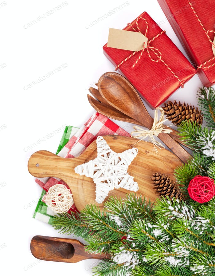 Christmas food cooking