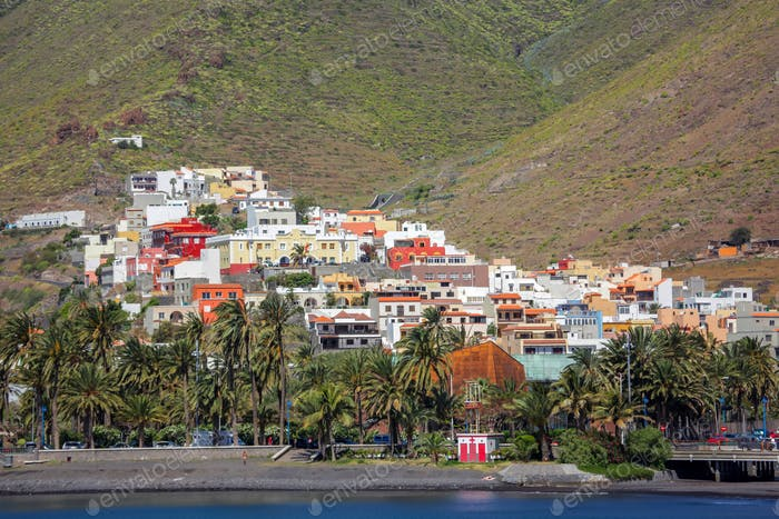 San Sebastian in La Gomera