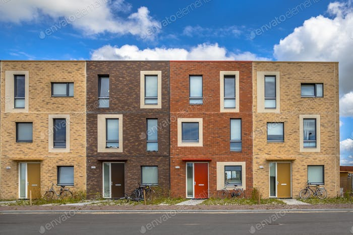 Four Modern Social housing apartments