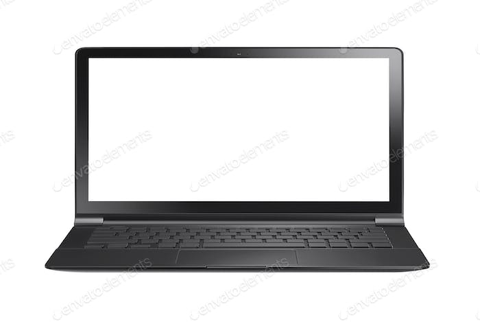 Laptop Computer PC isolated
