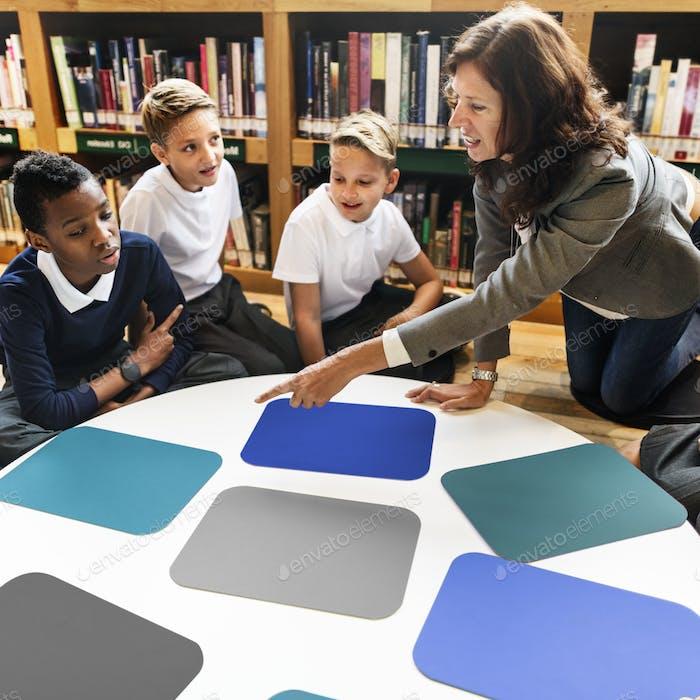 Study Study Study Learning Classroom Konzept