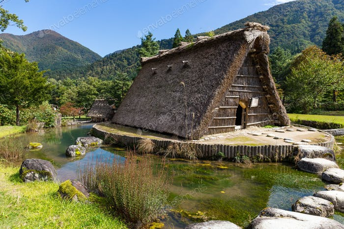 Traditional and Historical Japanese village Shirakawago