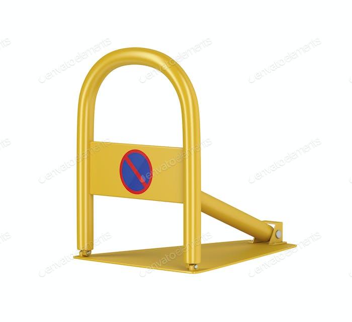 Yellow parking lock