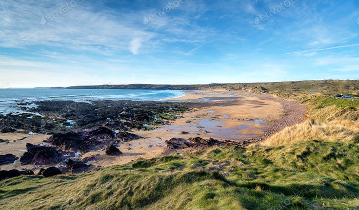Freshwater West Beach in Pembrokeshire