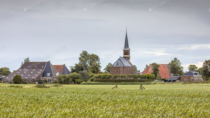 Dutch Hamlet of Warstiens