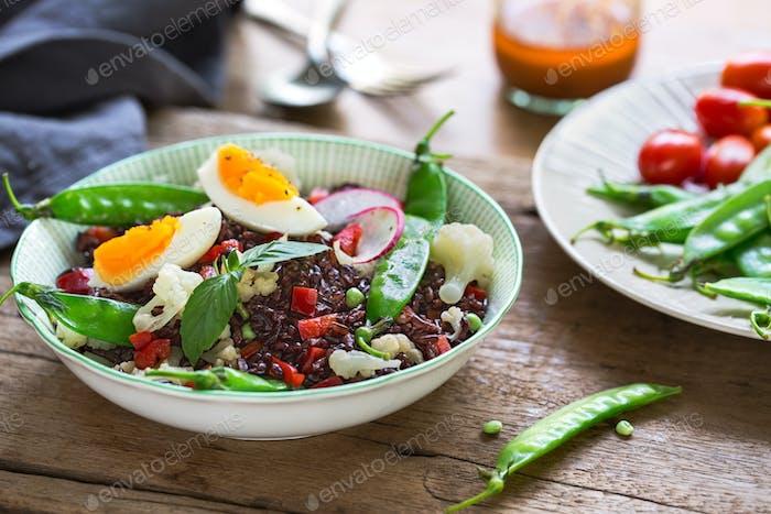 Riceberry salad