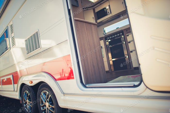 Moderne Trailer Camping