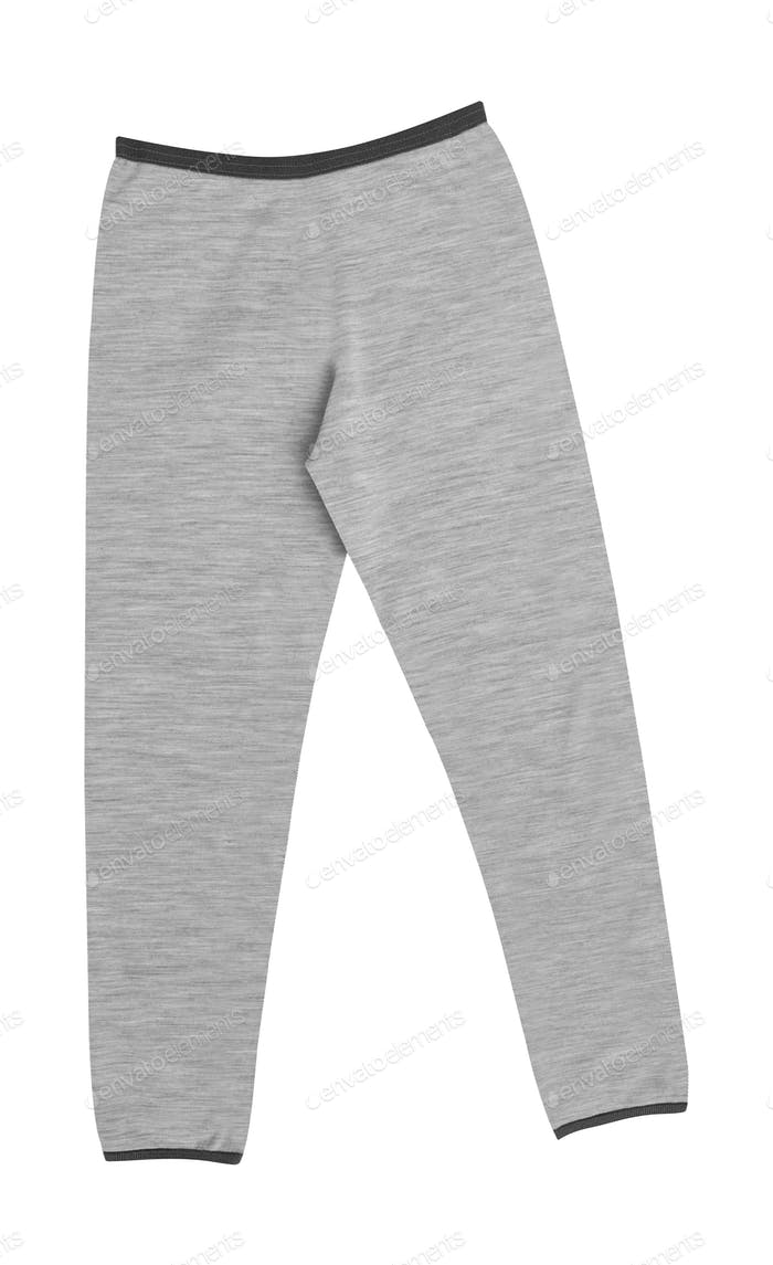 Sport gray sweatpants