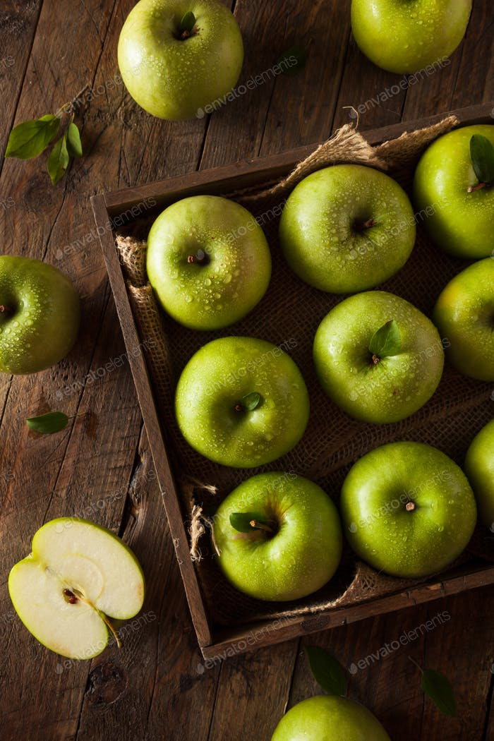 Green Granny Smith Apple