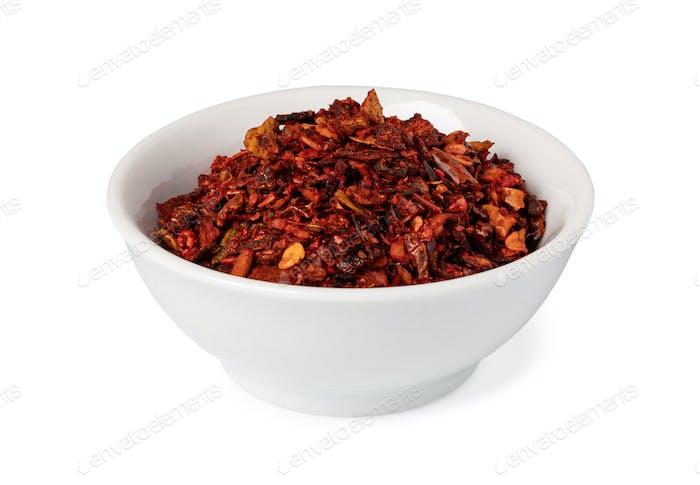dry Bell pepper