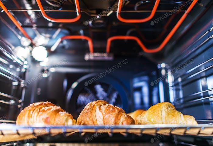 Tasteful Croissants Baking