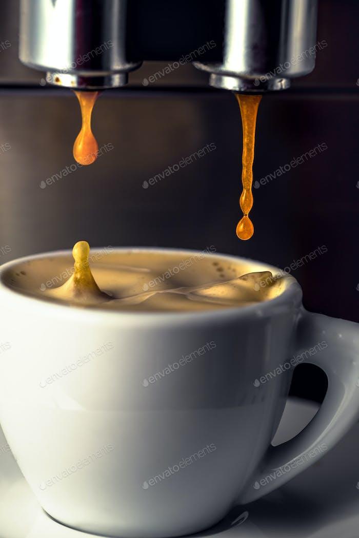 Espresso coffee drops