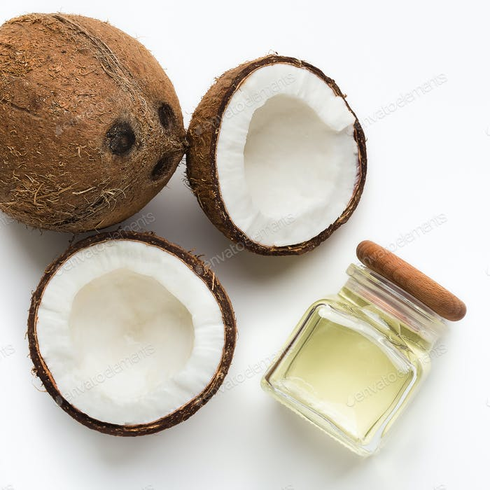 Bio-Kokosöl Konzept