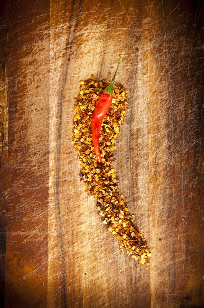 Red Hot Chilli Concept