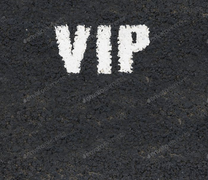 VIP Road Markings