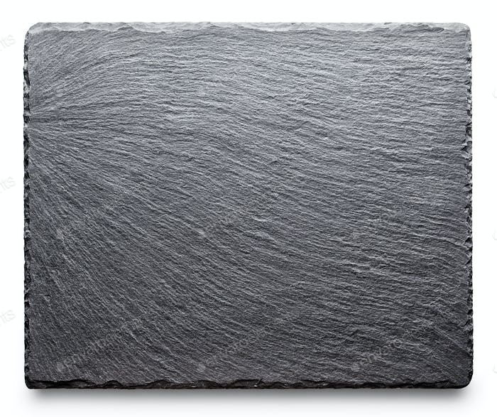 Textured slate board for dishes