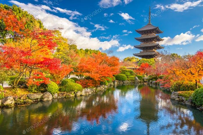 Toji Pagode Kyoto
