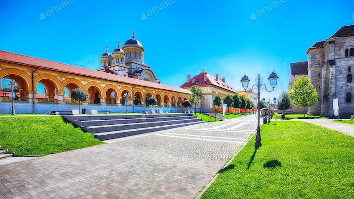 The Coronation Orthodox Cathedral  in Fortress of Alba Iulia