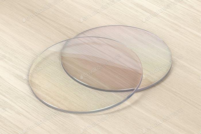 Thumbnail for Pair of eyeglasses lens