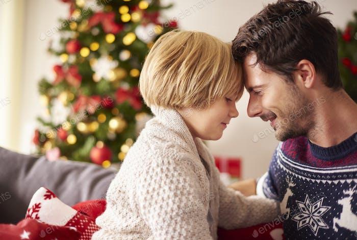 Magic moments at the Christmas