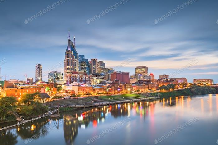 Nashville, Tennessee, USA skyline