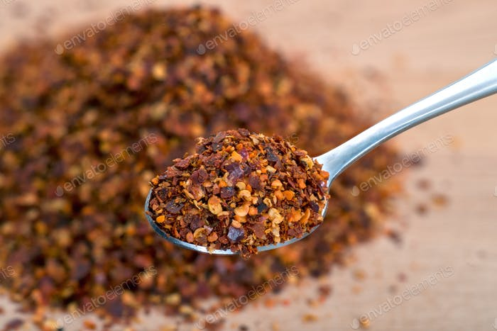 Organic Hot Red Chili Flakes