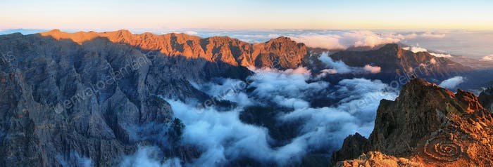 The largest astronomical observatory located in La Palma island