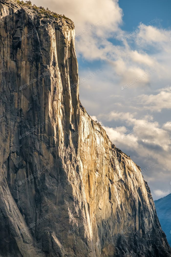 El Capitan Rock im Yosemite Nationalpark