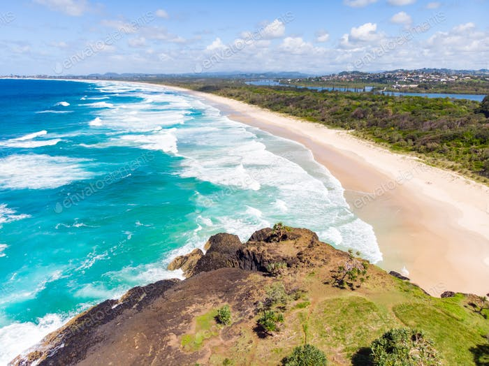 Fingal Head View Over Wommin Bay