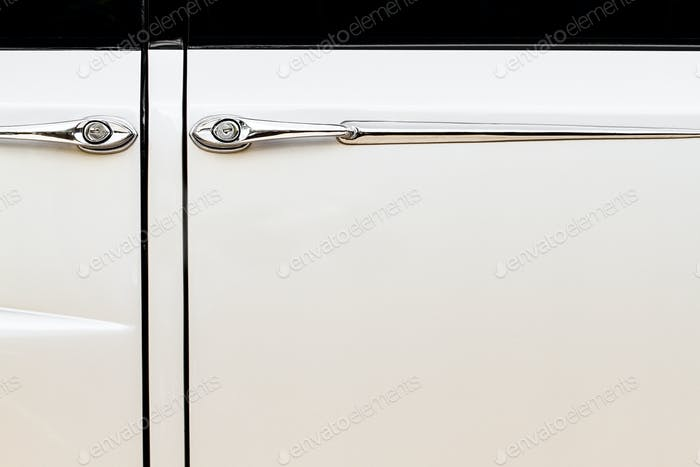 Luxurious Vintage Car Doors