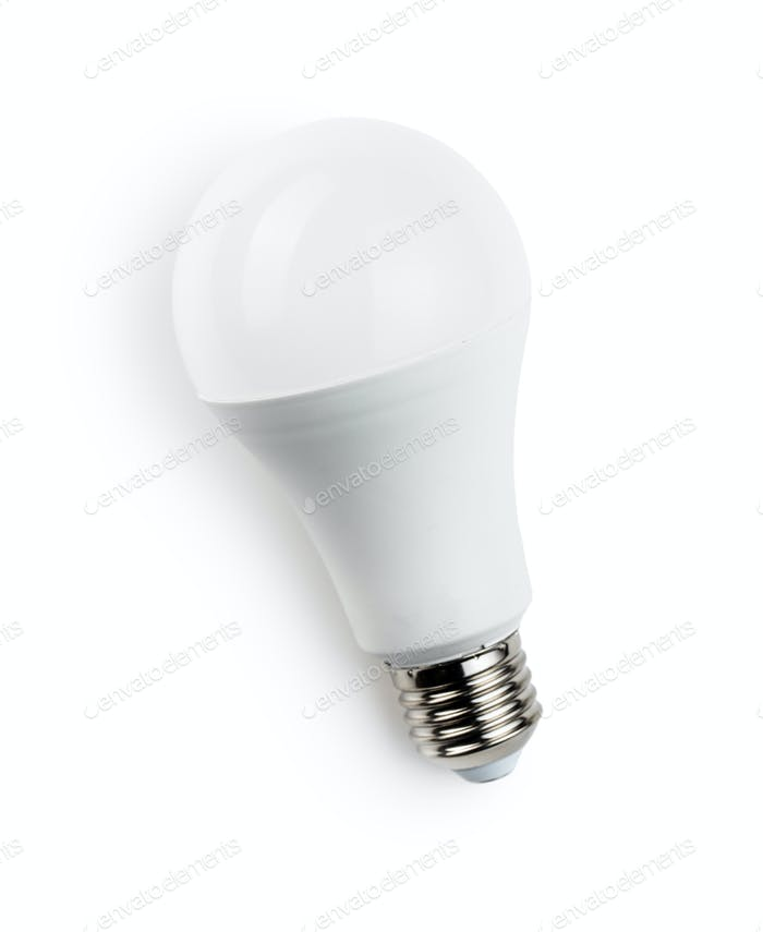 Energy saving light bulb. LED light bulb.