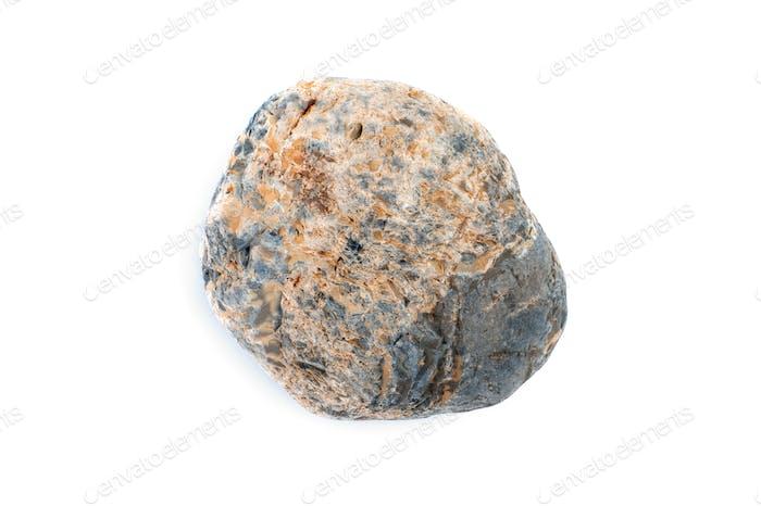 Natural multi-colored stone close-up.