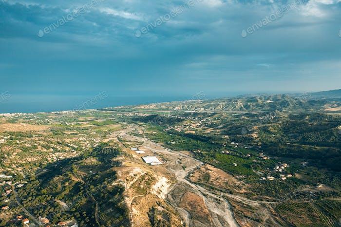 Terreno de Calabria