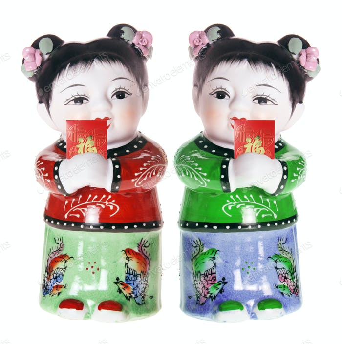 Chinese Girl Figurines