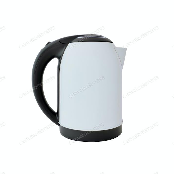 Weißer Wasserkocher