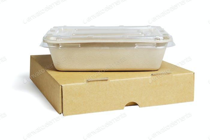 Контейнеры для пищевых продуктов на вынос