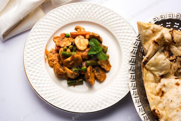 Mushroom Curry or Mushroom Masala