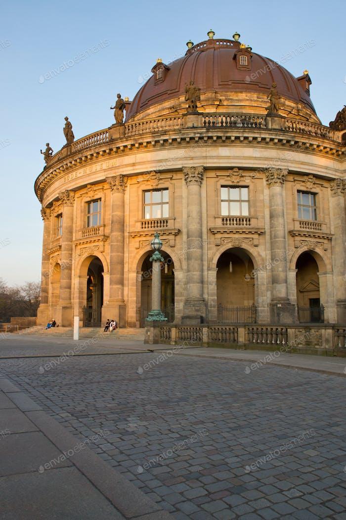 Das Bodemuseum in Berlin