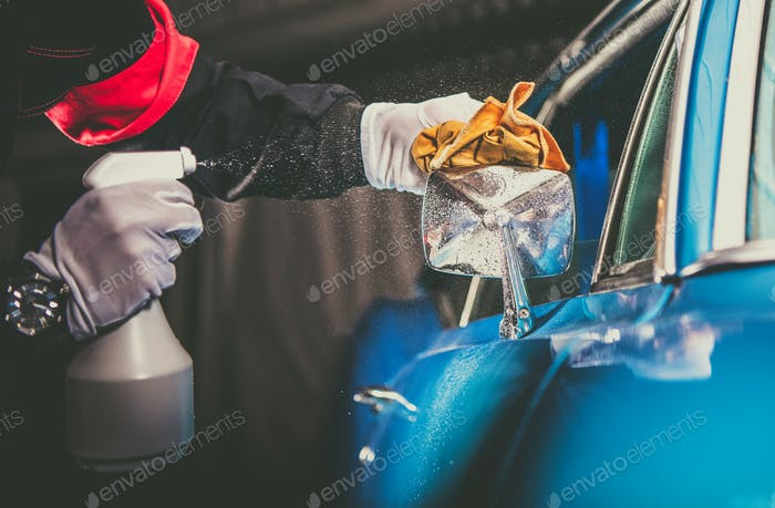 Manual Classic Car Cleaning