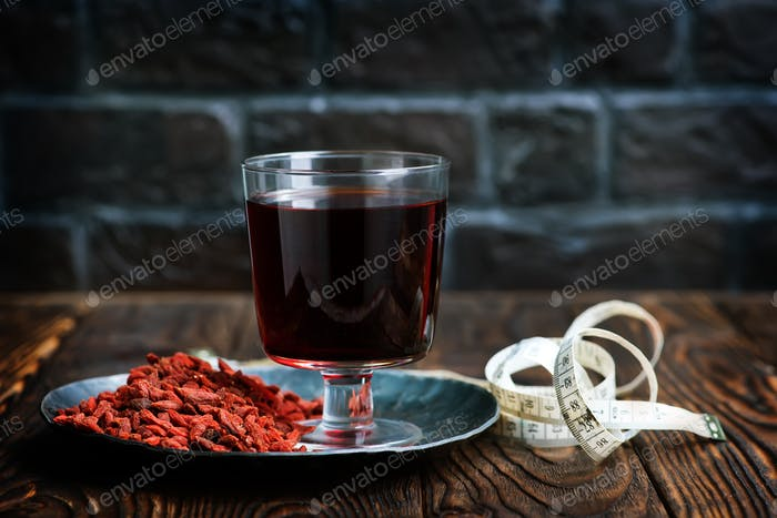 goji and drink