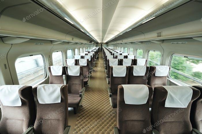 Train car seat