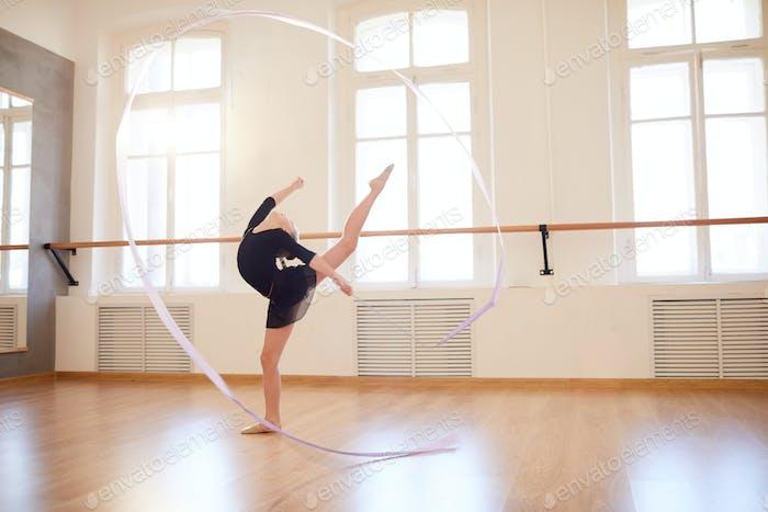Gymnastics with Ribbon