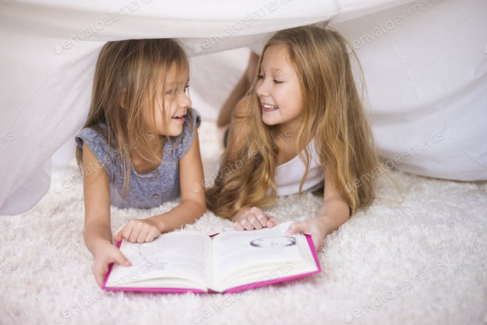 Imaginary house is the best to read a book